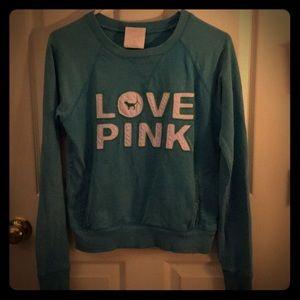 Victoria's Secret Pink Classic Crew Sweatshirt Sm
